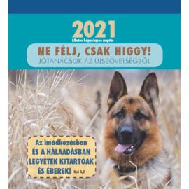 Képeslapnaptár 2021 (2/1) – Ne félj, csak higgy!