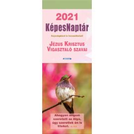 Képeslapnaptár 2021 (2/2) – Jézus Krisztus vigasztaló szavai