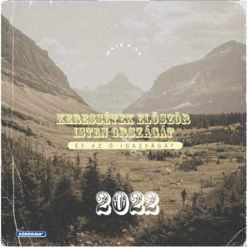 Négyzetes falinaptár 2022 (3/1) – Keressétek először Isten országát