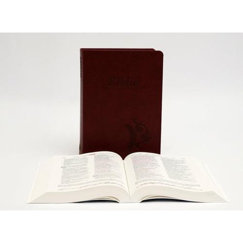 Biblia - Középméretű, varrott kiállítású, bordó
