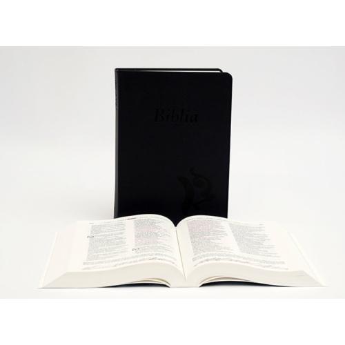Biblia - Középméretű, varrott kiállítású, sötétkék