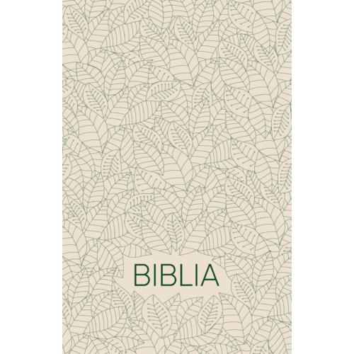 Biblia  egyszerű fordítás (fehér / leveles)