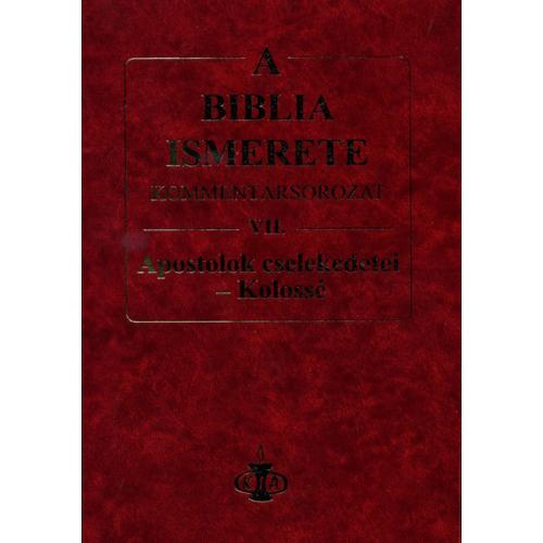 Biblia ismerete VII., A - John F. Walvoord, Roy B. Zuck