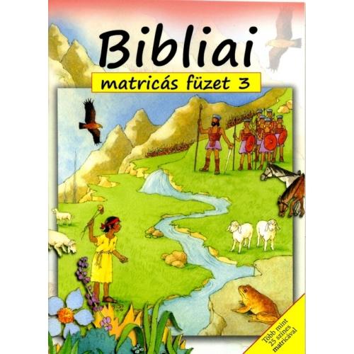 Bibliai matricás füzet 3.