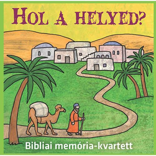 HOL A HELYED? társasjáték
