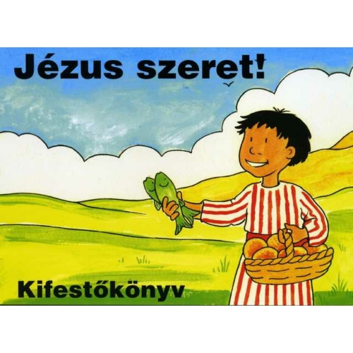 Kifestőkönyv Jézus szeret! - kifestőkönyvek
