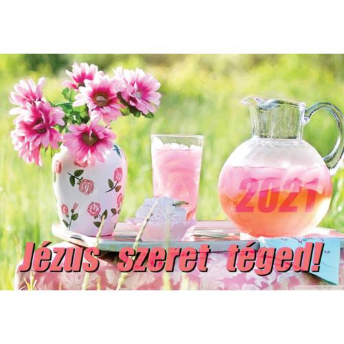 Kártyanaptár 2021 (4) Jézus szeret téged!