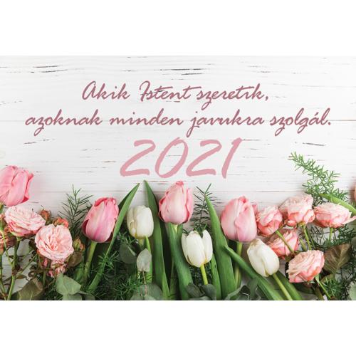 Kártyanaptár 2021 (7) Akik Istent szeretik...