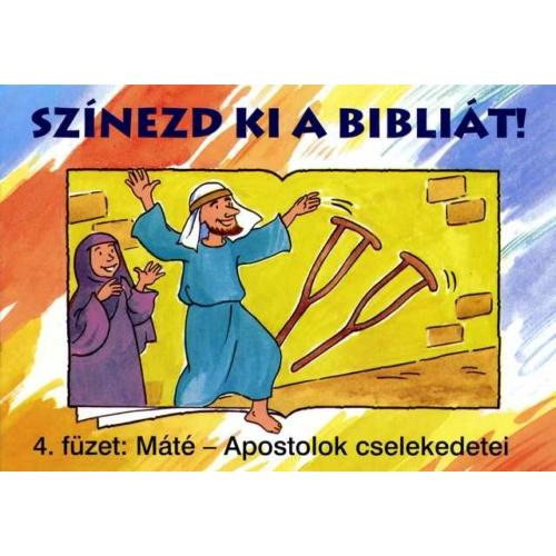 Színezd ki a Bibliát! 4. - kifestőkönyvek