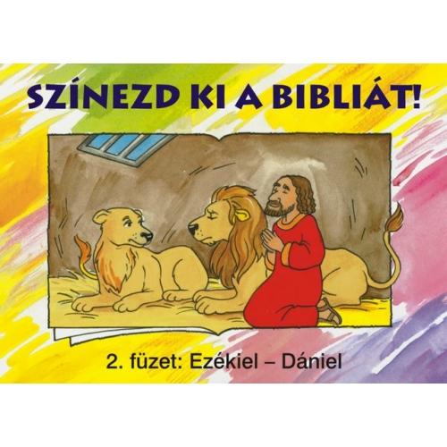 Színezd ki a Bibliát! 2. - kifestőkönyvek