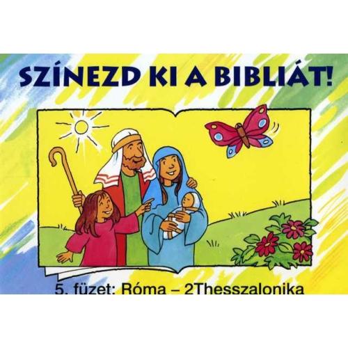 Színezd ki a Bibliát! 5. - kifestőkönyvek