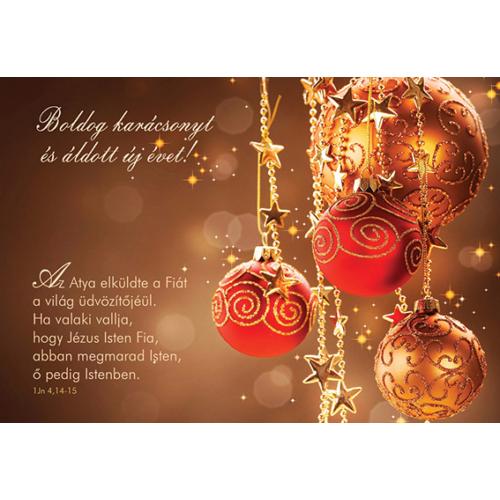 Karácsonyi képeslap csomag (kar 08)